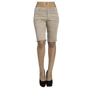 Vince Sateen Twill Bermuda Tan Shorts Size 2